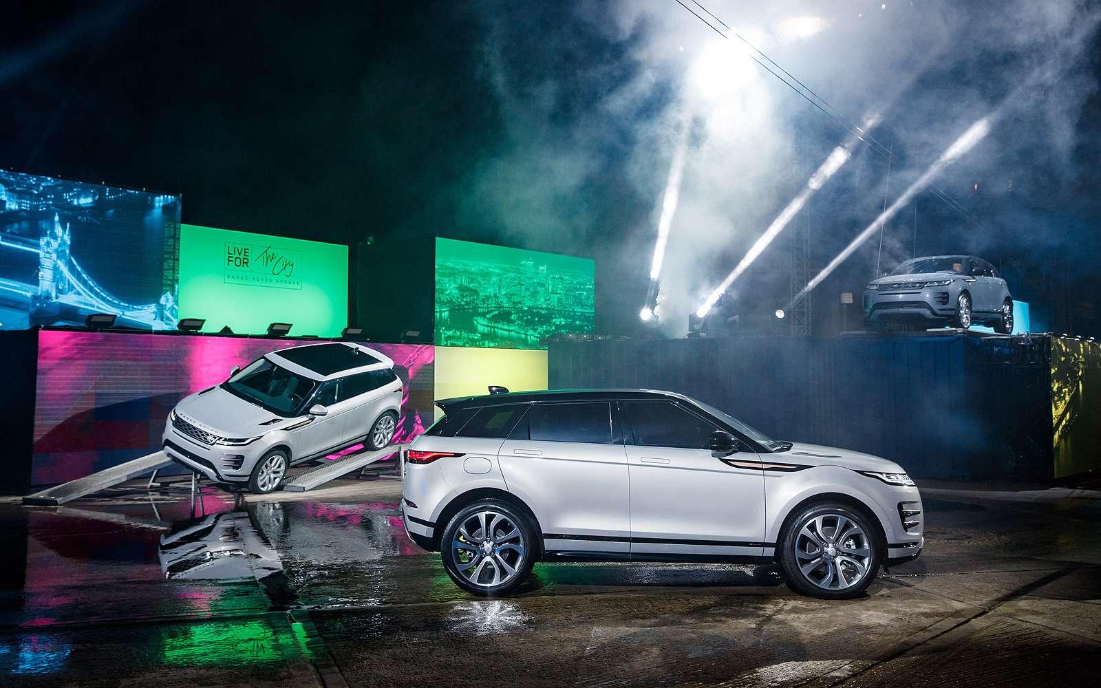 Новый Range Rover Evoque: отпредшественника только дверные петли— фото 926329