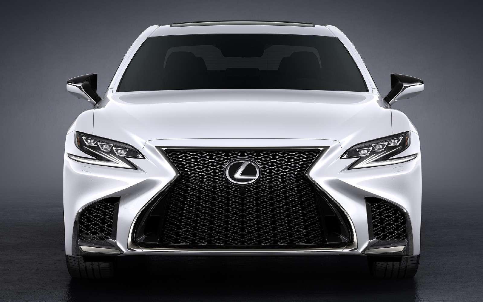Выход третий, спортивный: Lexus LSFSport отпразднует премьеру вНью-Йорке— фото 735339
