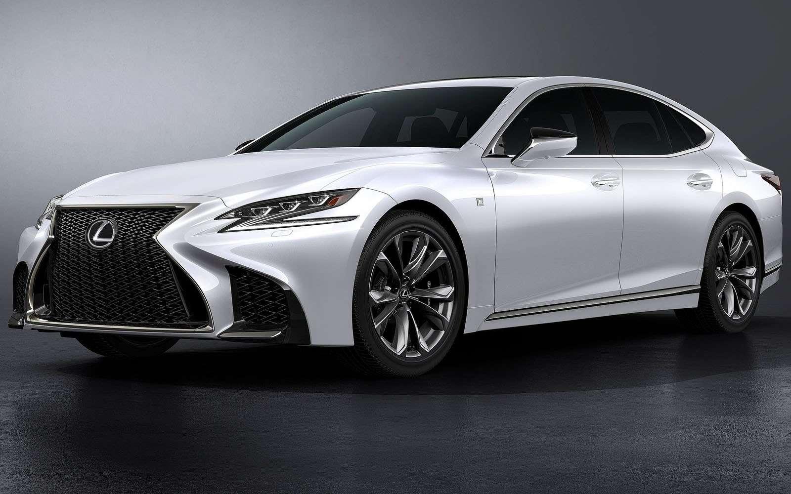 Lexus подготовил свой ответ «шестисотому»— фото 800917