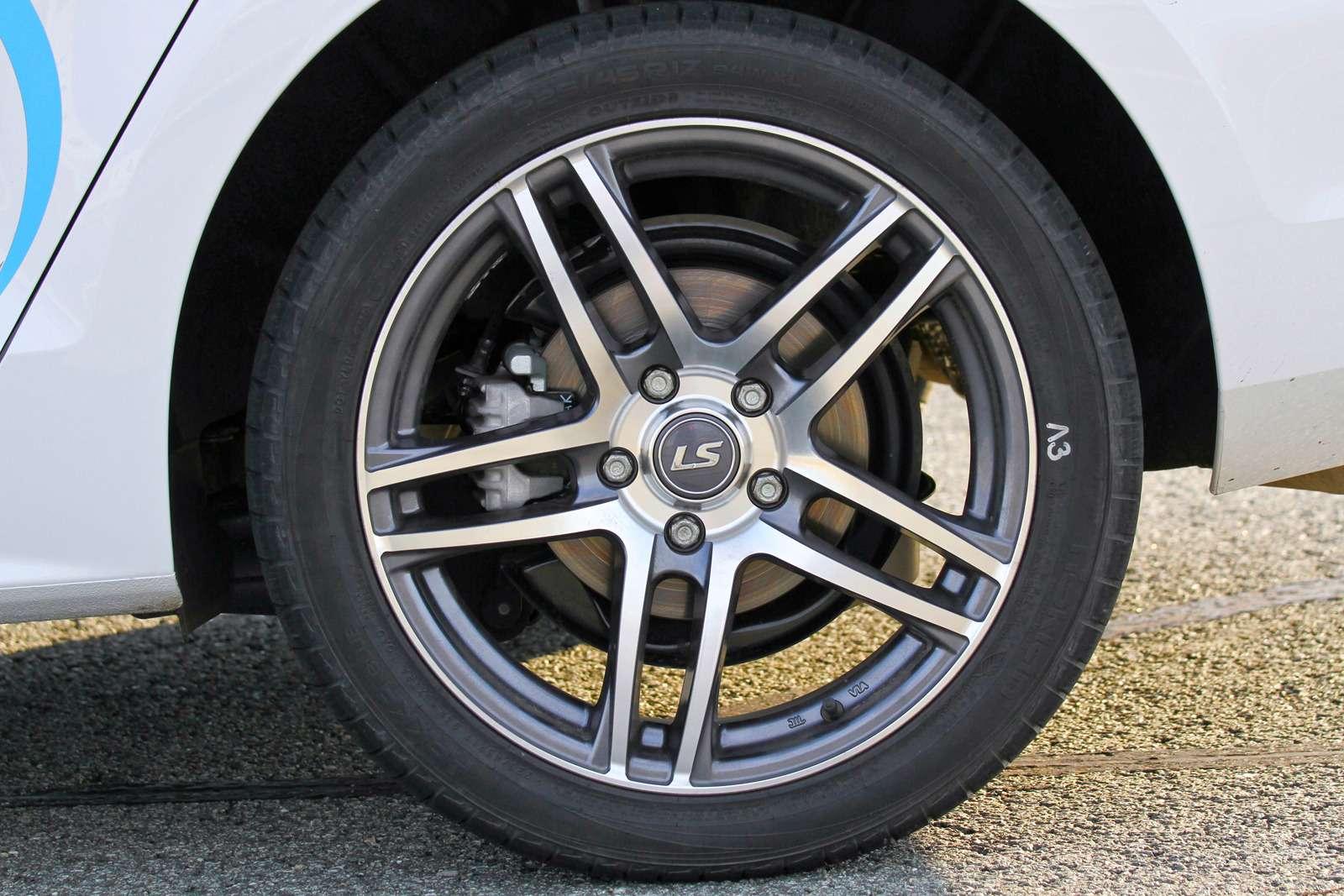 Сравнительный тест высокоскоростных летних шин 225/45R17: заложники скорости— фото 572698
