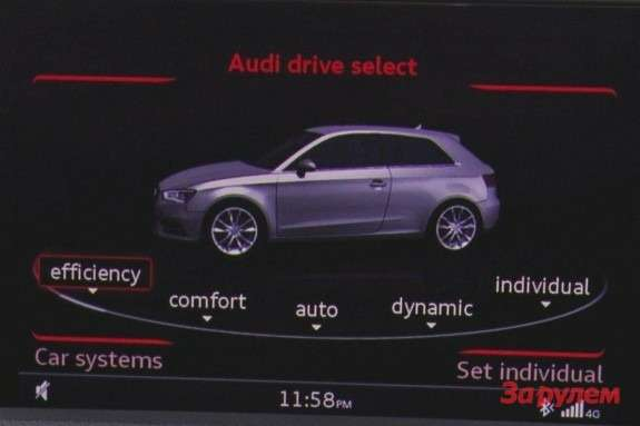 Audi A3 graphical image 3
