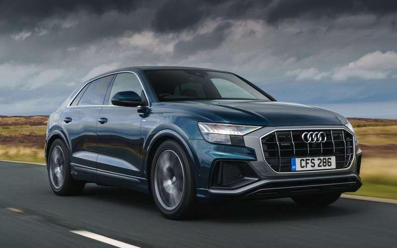 Audi Q8уже попал подотзыв
