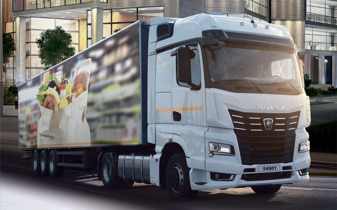 Новая кабина, новый двигатель— совсем другой КАМАЗ уже впродаже— фото 1125212