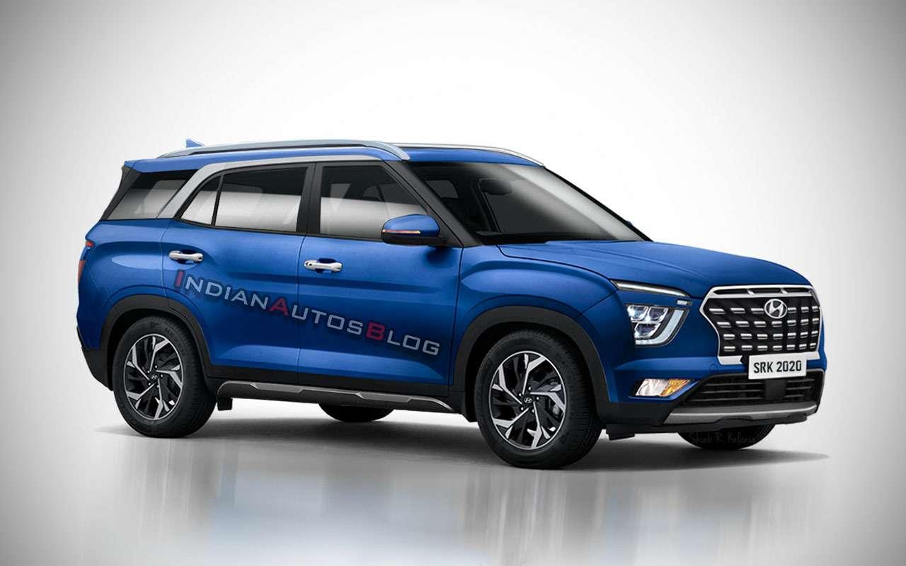 Какможет выглядеть 7-местная Hyundai Creta— фото 1118965
