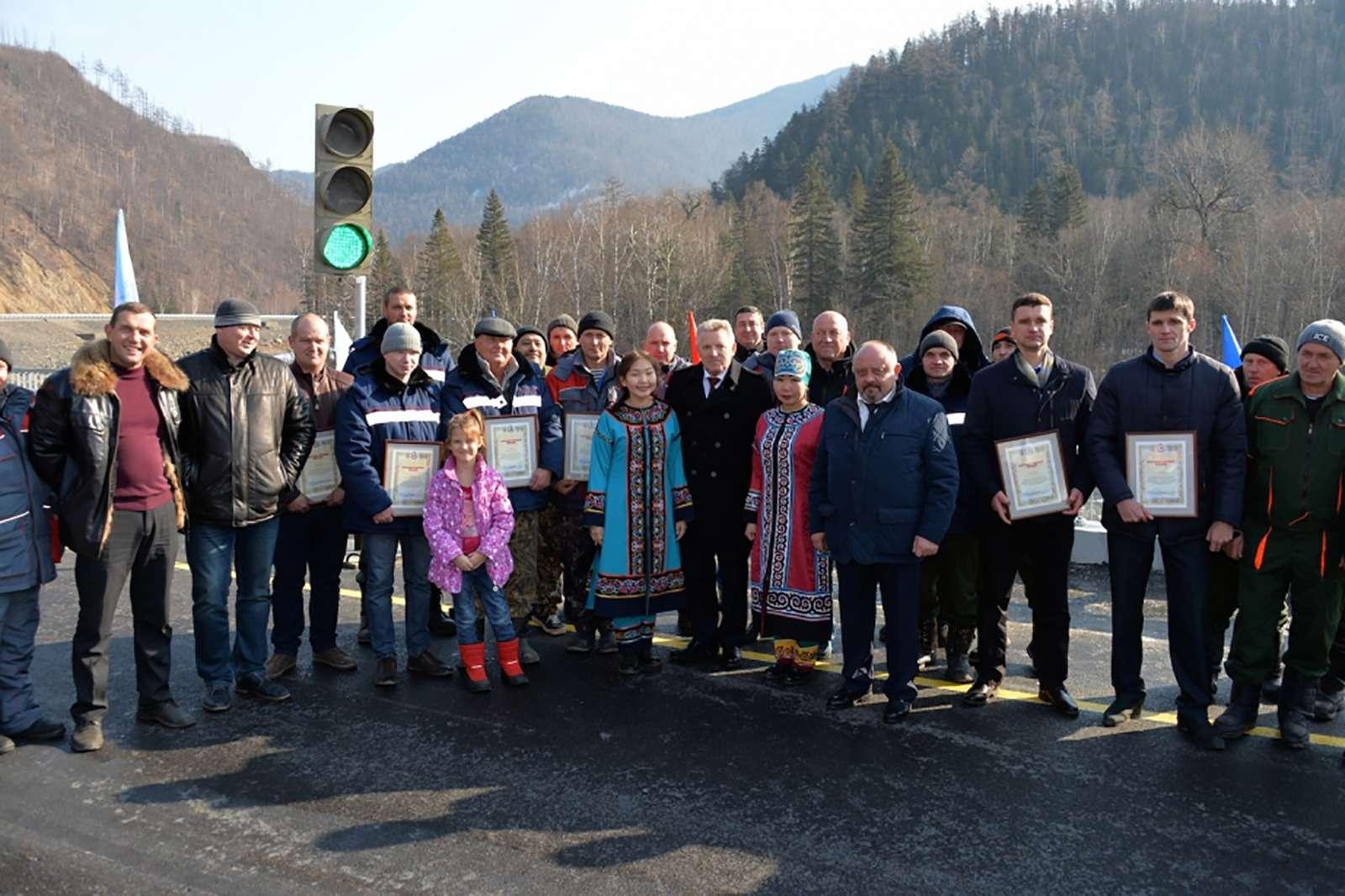 В Хабаровском крае доделали дорогу, которую строили 20лет— фото 811217