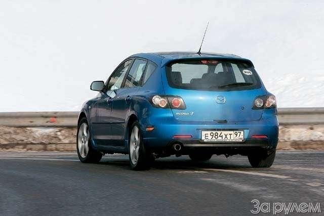 ТЕСТ: Mazda 3и Mitsubishi Lancer. Два литра сверхом— фото 63626