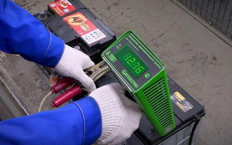 Заводимся наморозе: простой способ проверить состояние аккумулятора