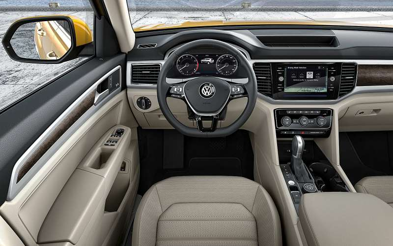Интерьер Volkswagen Atlas