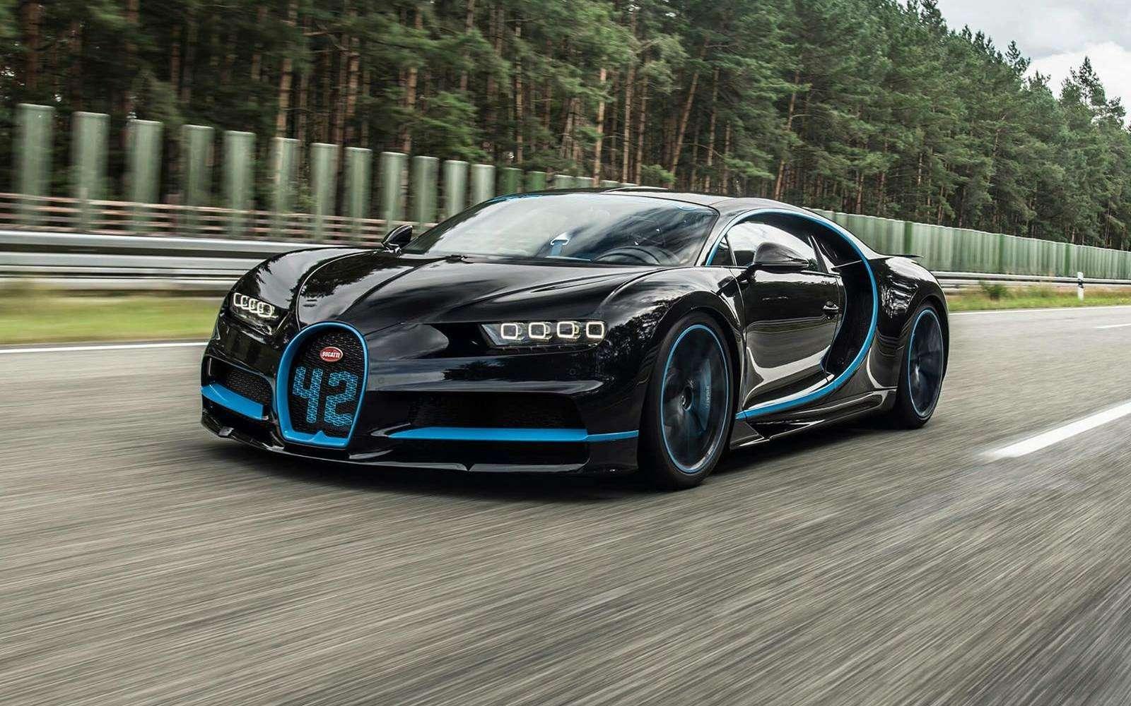 0-400-0 км/ч— видео рекордного заезда Bugatti Chiron— фото 794897