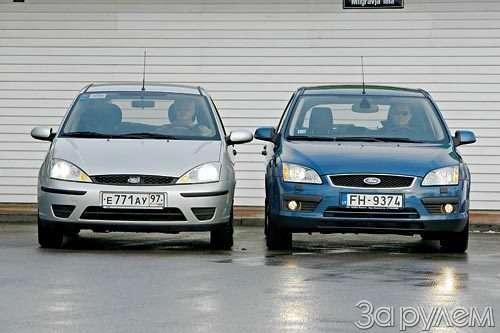 сравнительные тесты volvo s40 vs ford focus