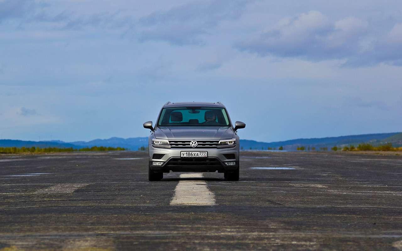 Volkswagen Tiguan— самый суровый тест— фото 893673