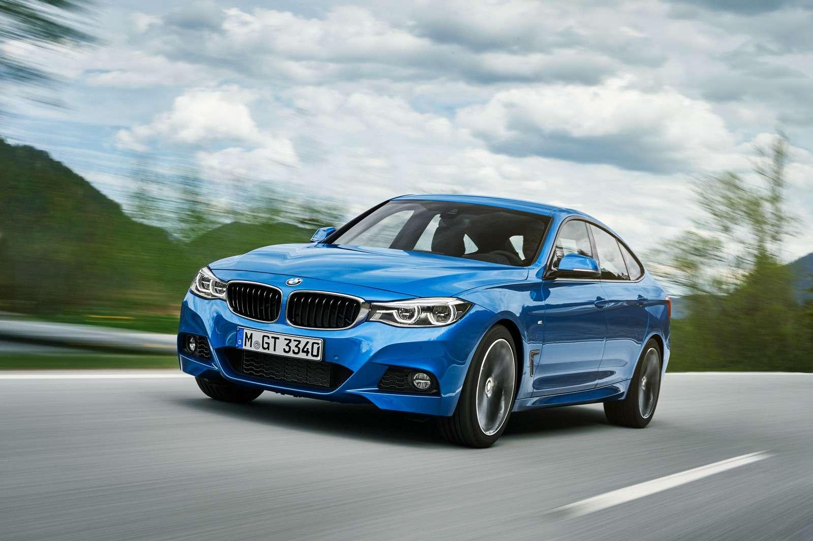 Обновленный BMW 3-й серии GT: урок эффективного менеджмента— фото 593861