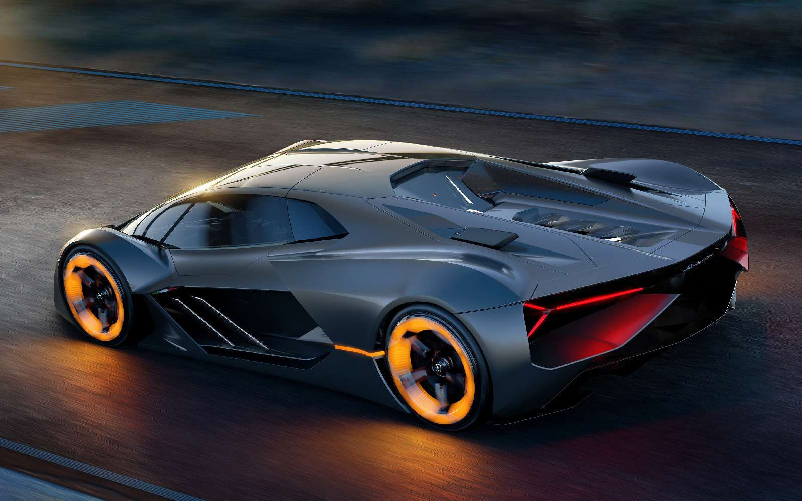 Lamborghini будущего: кузов-батарейка ссамовосстановлением— фото 813925