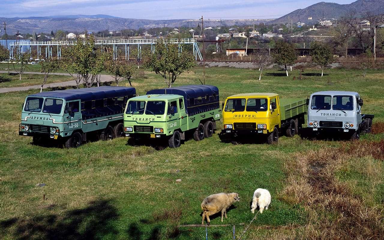 Сделано в СССР: вездеходы своими руками - фото 1158356