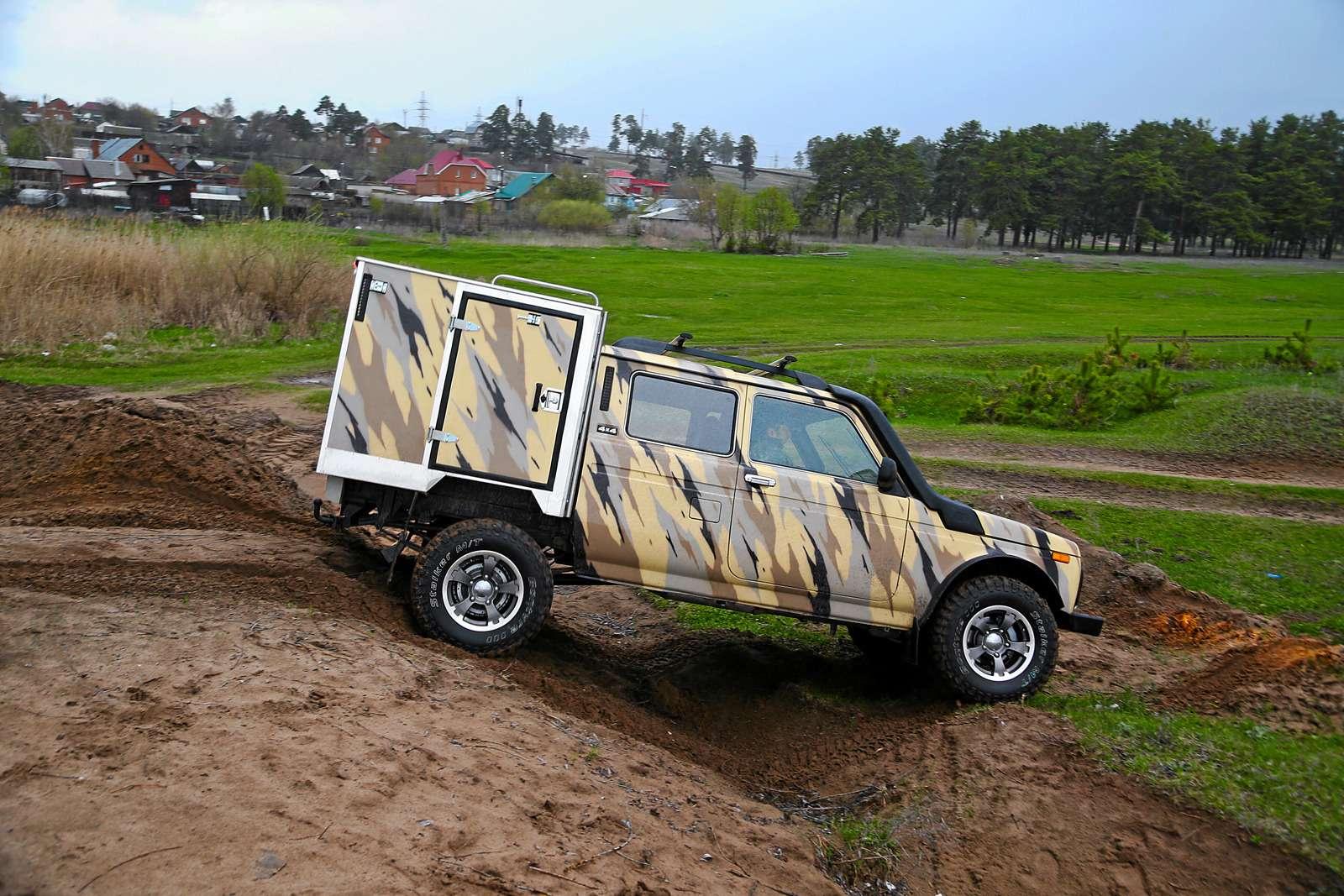 Фургон ВИС‑23461-40 Рысь