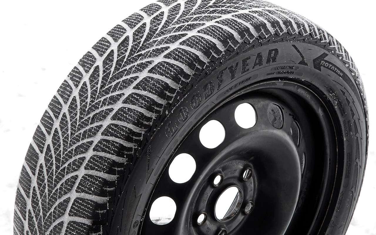 Нешипованные шины длямашин гольф-класса— большой тест ЗР— фото 807224