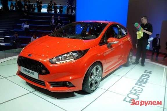 Ford Fiesta STside-front view