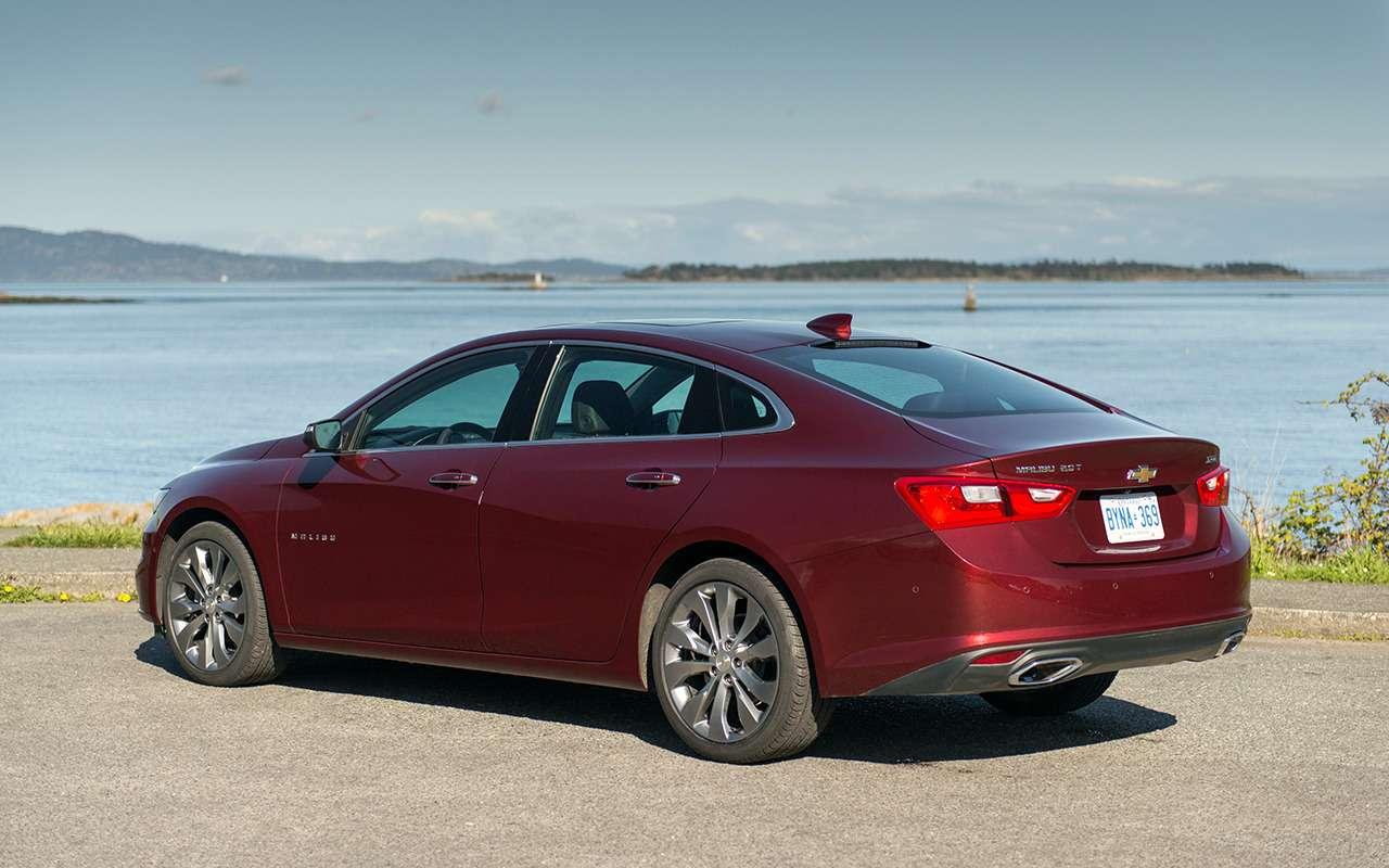 9 крутых моделей Chevrolet, которых не купить вРоссии— фото 904293