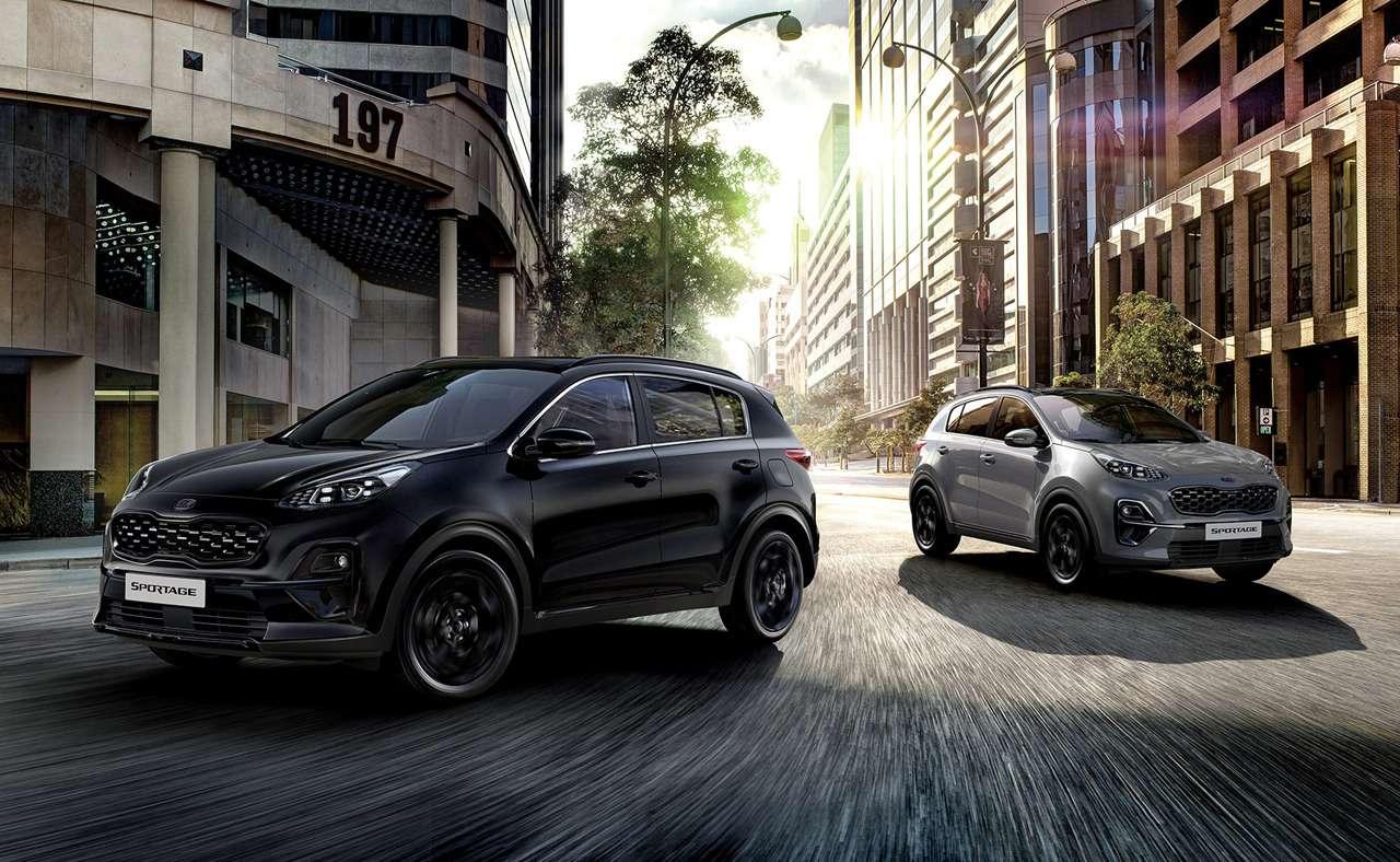 KiaSportage Black Edition— новая версия— фото 1204034