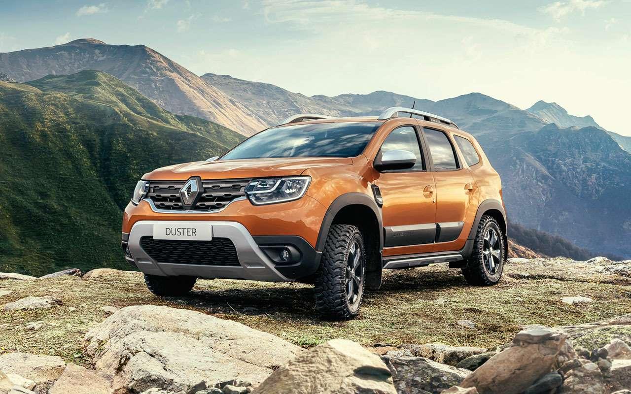 Renault представила новый Duster дляРоссии— фото 1209167