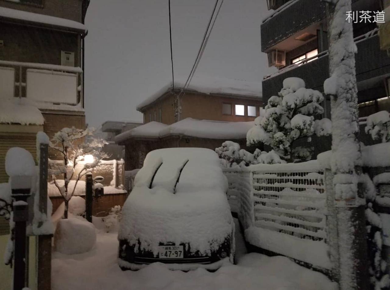 Снегопад вЯпонии: надорогах гибнут автолюбители— фото 845062