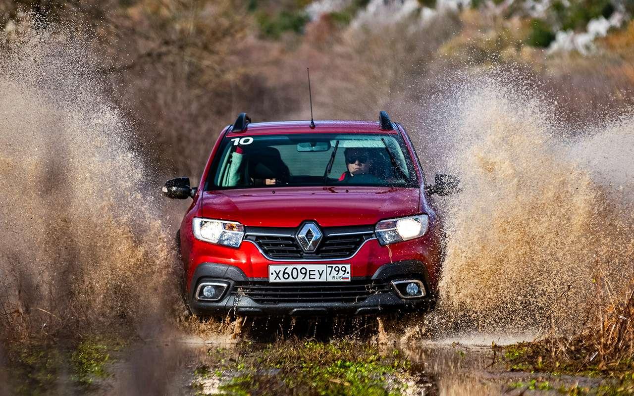 Какбы кроссоверы: тест Renault Logan Stepway иSandero Stepway— фото 942654