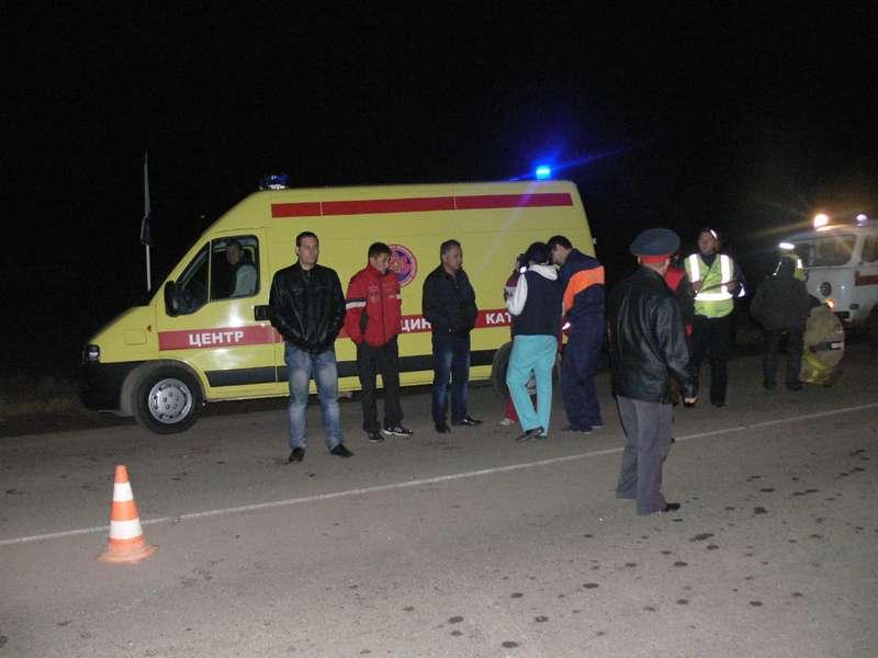 Крупная авария вТюменской области