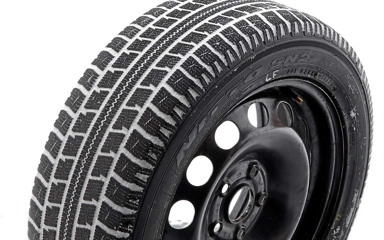 Нешипованные шины длямашин гольф-класса— большой тест ЗР— фото 807225