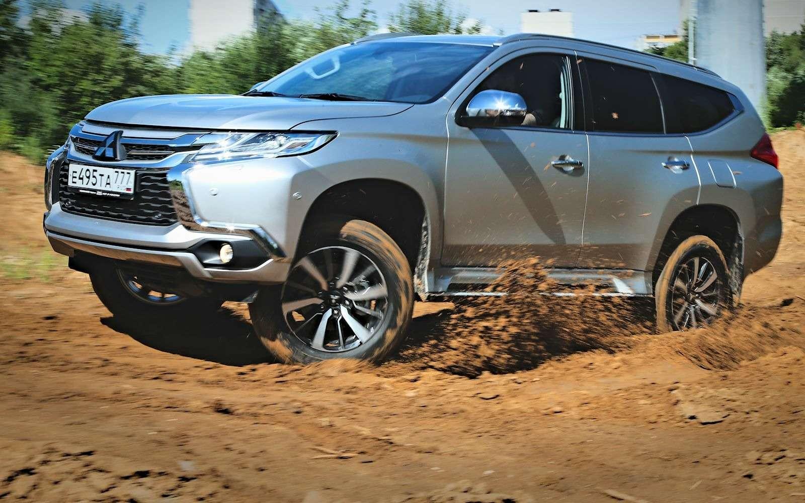 Новый Mitsubishi Pajero Sport: первый тест ипервая грязь!— фото 607584
