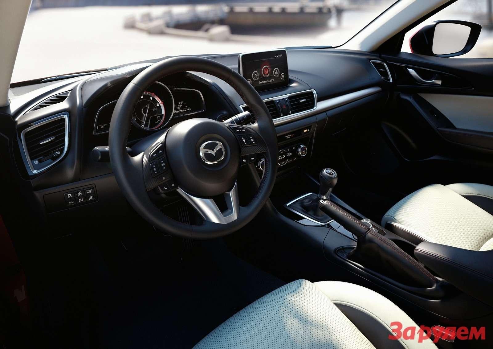 Mazda3 Hatchback 2013 interior 01copy
