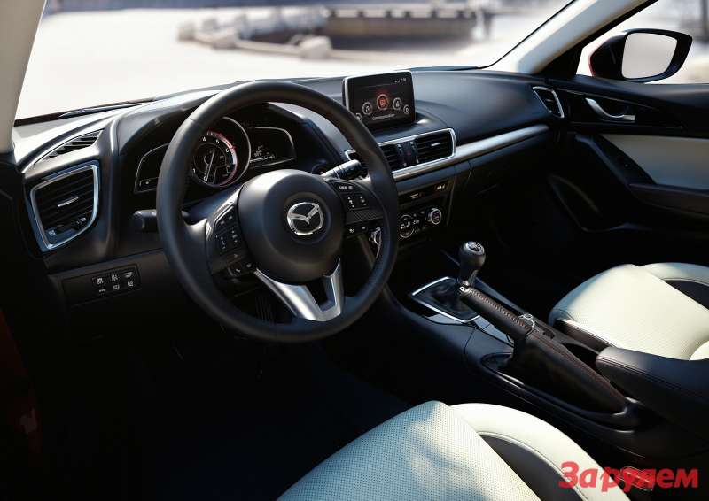 Mazda3 Hatchback 2013 interior 01 copy