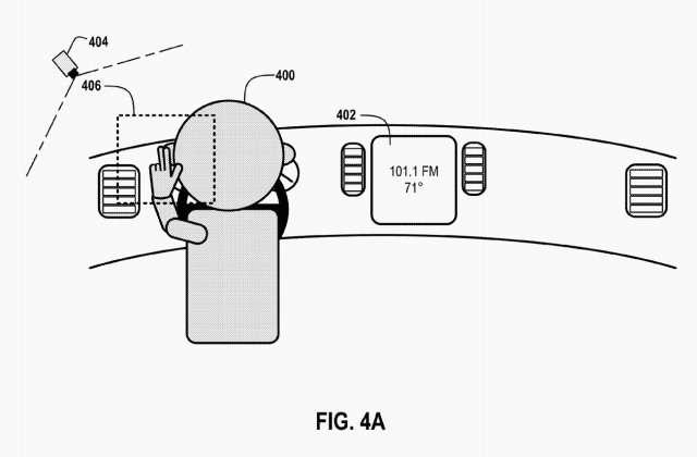 Google запатентовал технологию управления автомобилем спомощью жестов