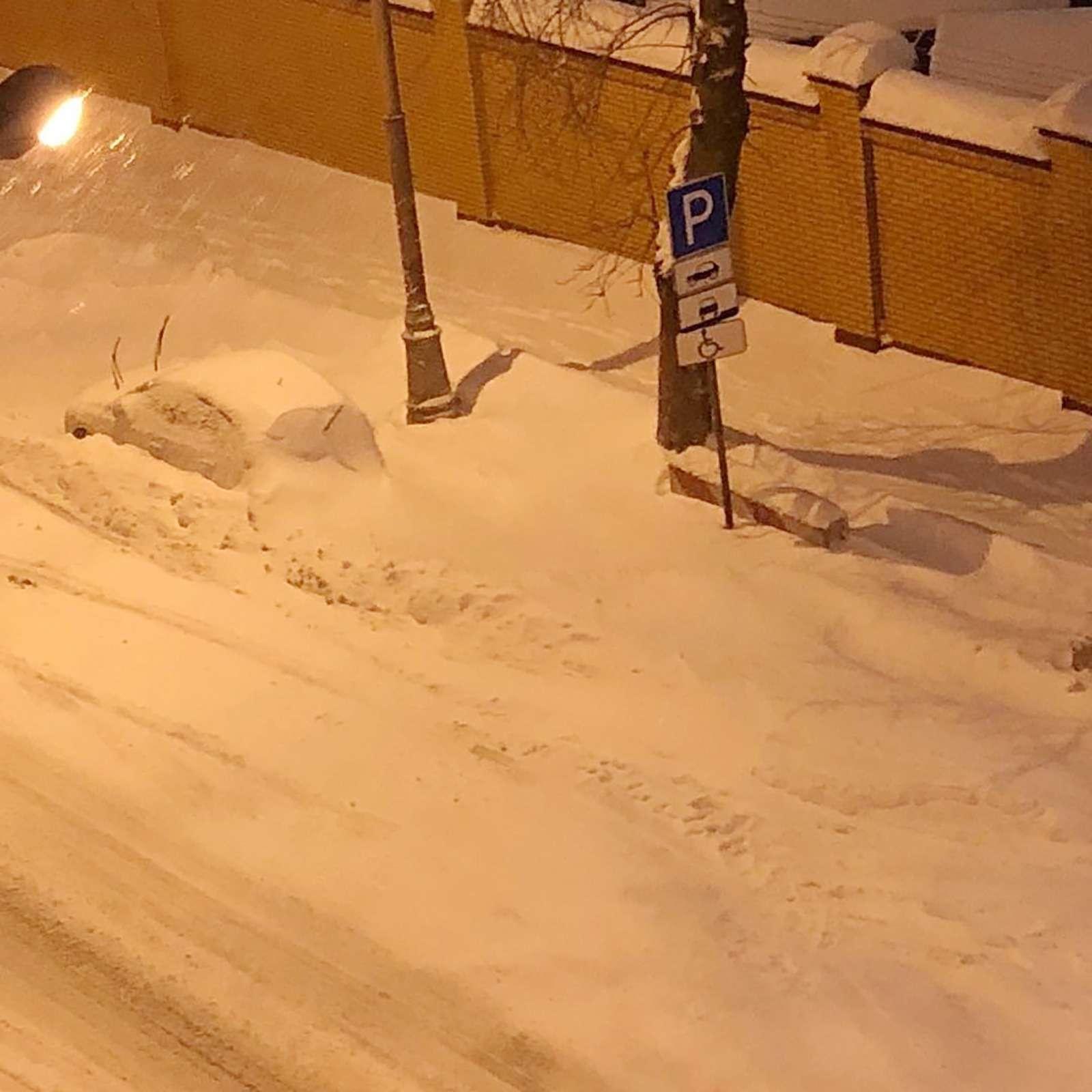 «Снегопад века»: как вМоскве пережили первый катаклизм года— фото 842117