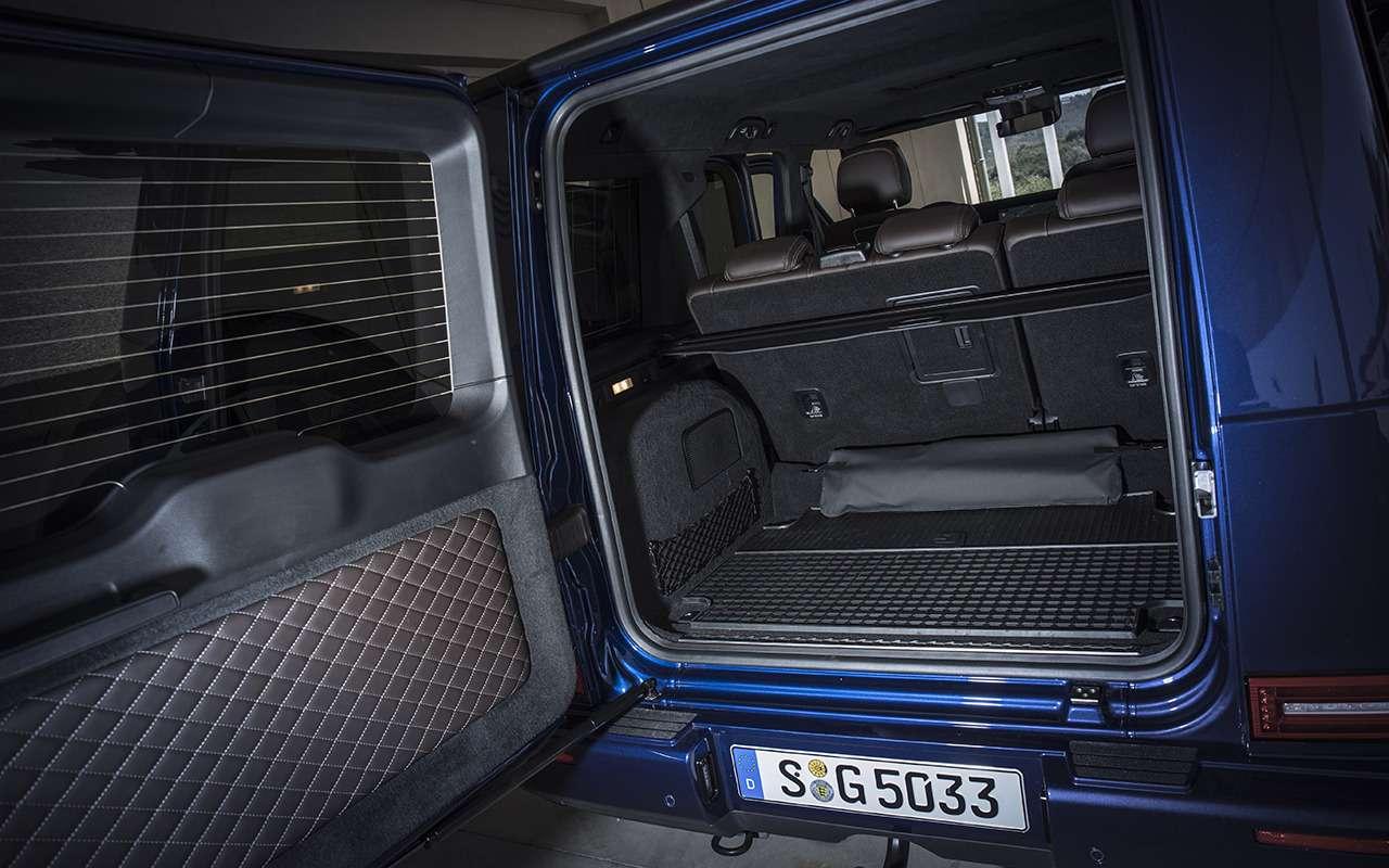 Новый Mercedes-Benz G-класса: первый тест-драйв— фото 867929