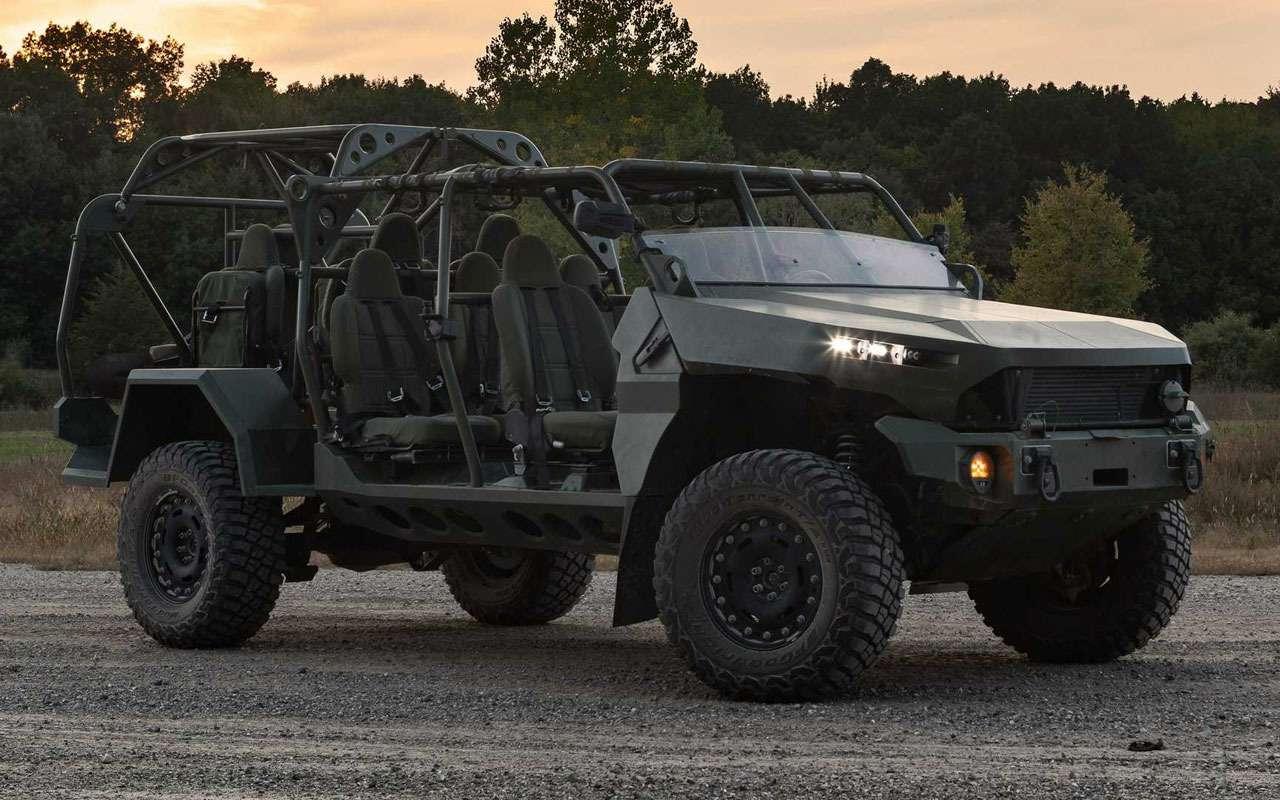 Новая машина пехоты США - это стоит больше 23 млн рублей - фото 1284314