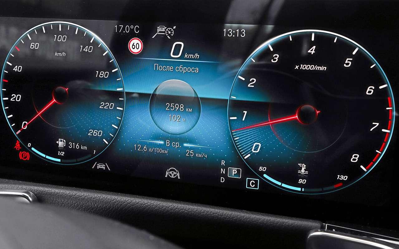 Тест самого дешевого кроссовера Mercedes— фото 1171767