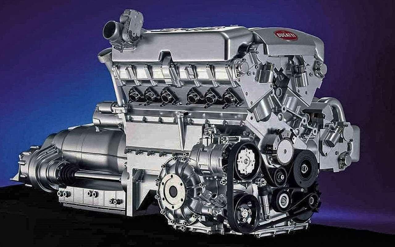 Самые большие моторы отV12до W18: полная история— фото 1085975