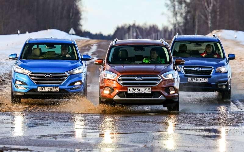 Ford Kuga против конкурентов: матч-реванш