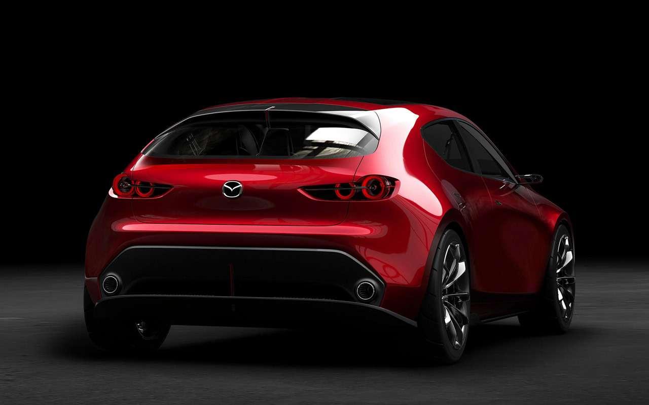 Новая Mazda 3: первые изображения серийной версии— фото 914296