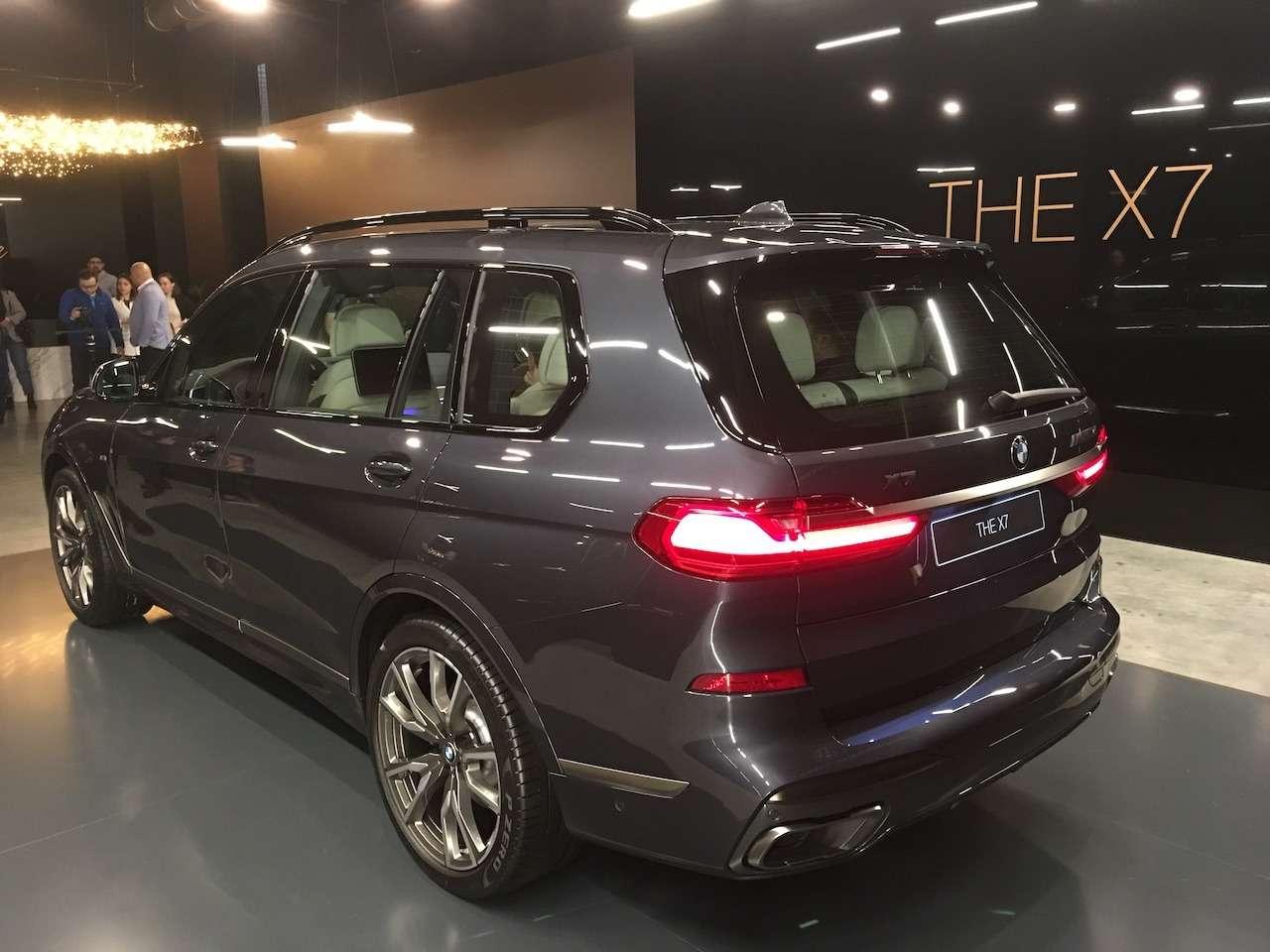 Новейший BMW X7засветился вМоскве— фото 930775