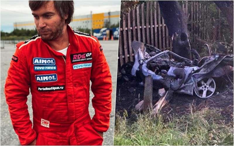 Известный автогонщик сгорел всвоем Porsche после ДТП