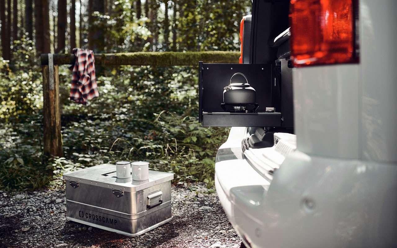 Opel представил дом наколесах— Crosscamp— фото 1227779