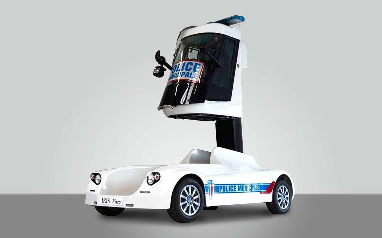 Странные патрульные машины: ужлучше вконную полицию!— фото 1122154