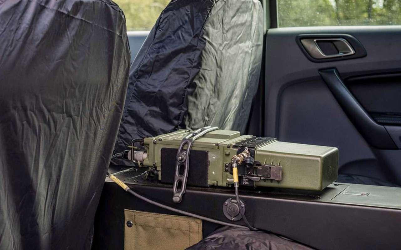 В стиле милитари: Ford Ranger переделали дляармии— фото 1003979