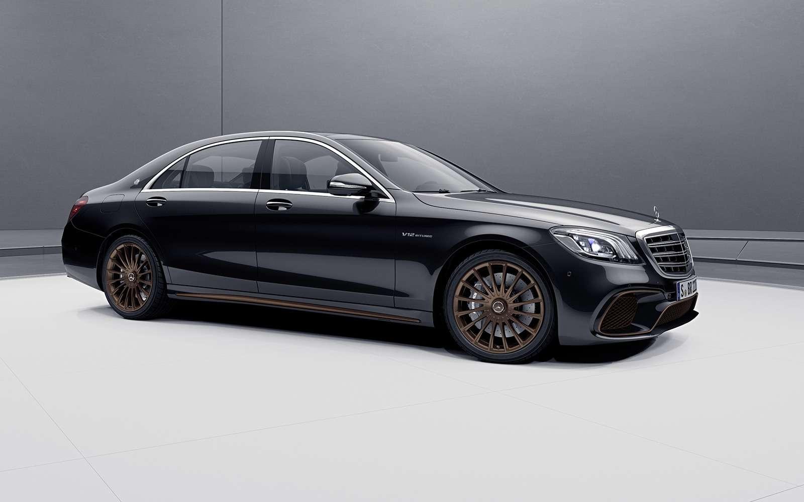 Mercedes-AMG простился сдвигателем V12 спецсерией S-класса— фото 954093