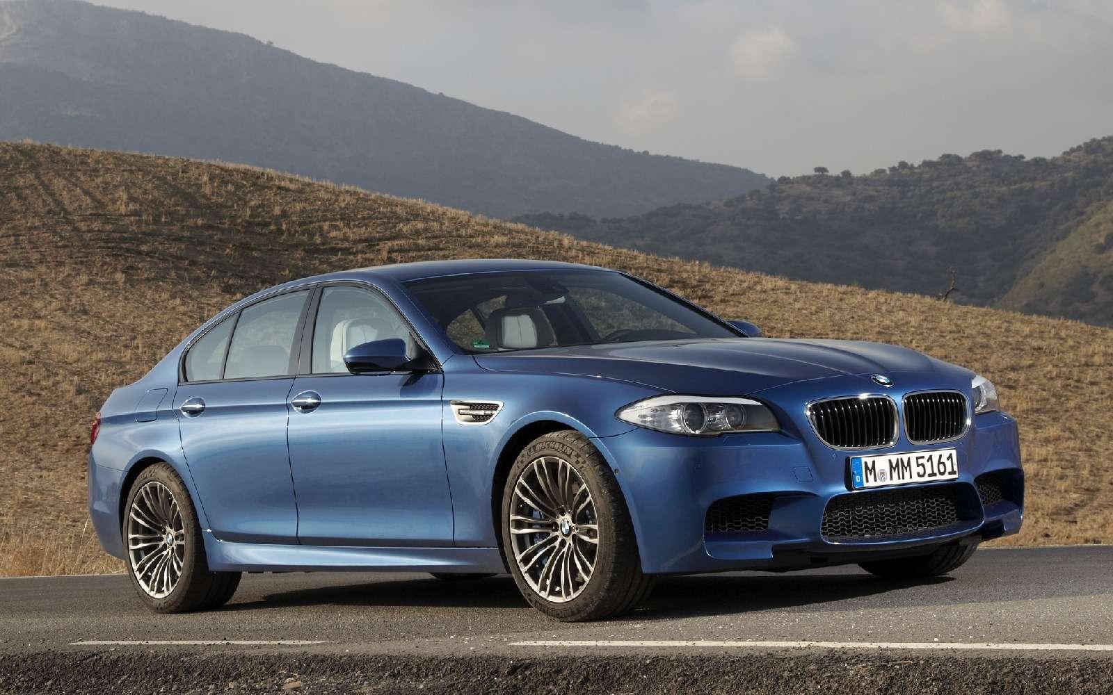 BMWM5не прощается, ноговорит досвидания— фото 611104