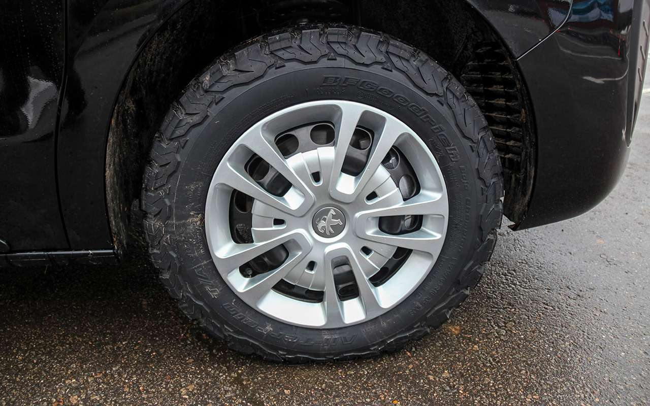 Peugeot Traveller сполным приводом: тест-драйв набездорожье— фото 1075772