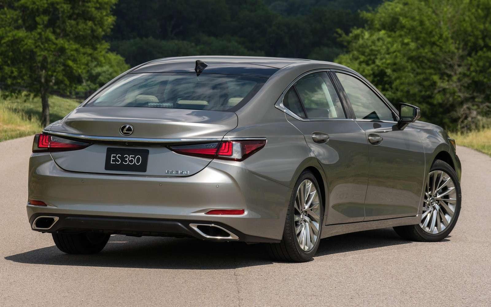 Почем входной билет впремиум? Lexus назвал российские цены нановый ES— фото 883757
