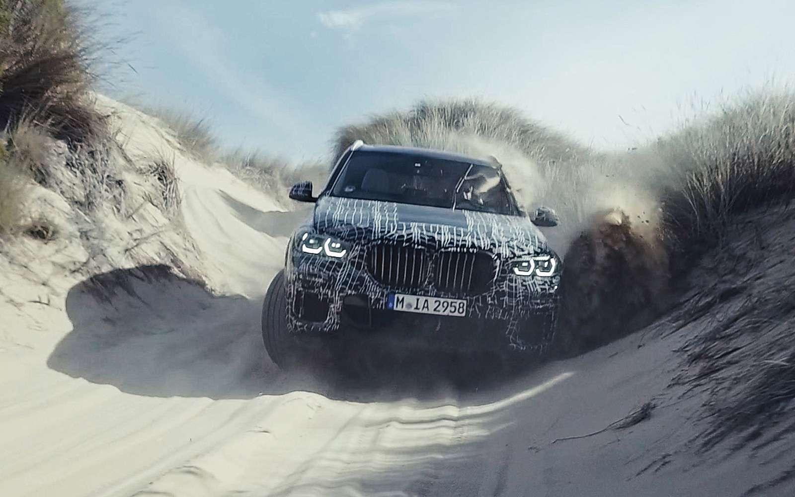 Новый BMW X5: первые фото иинформация— фото 873039