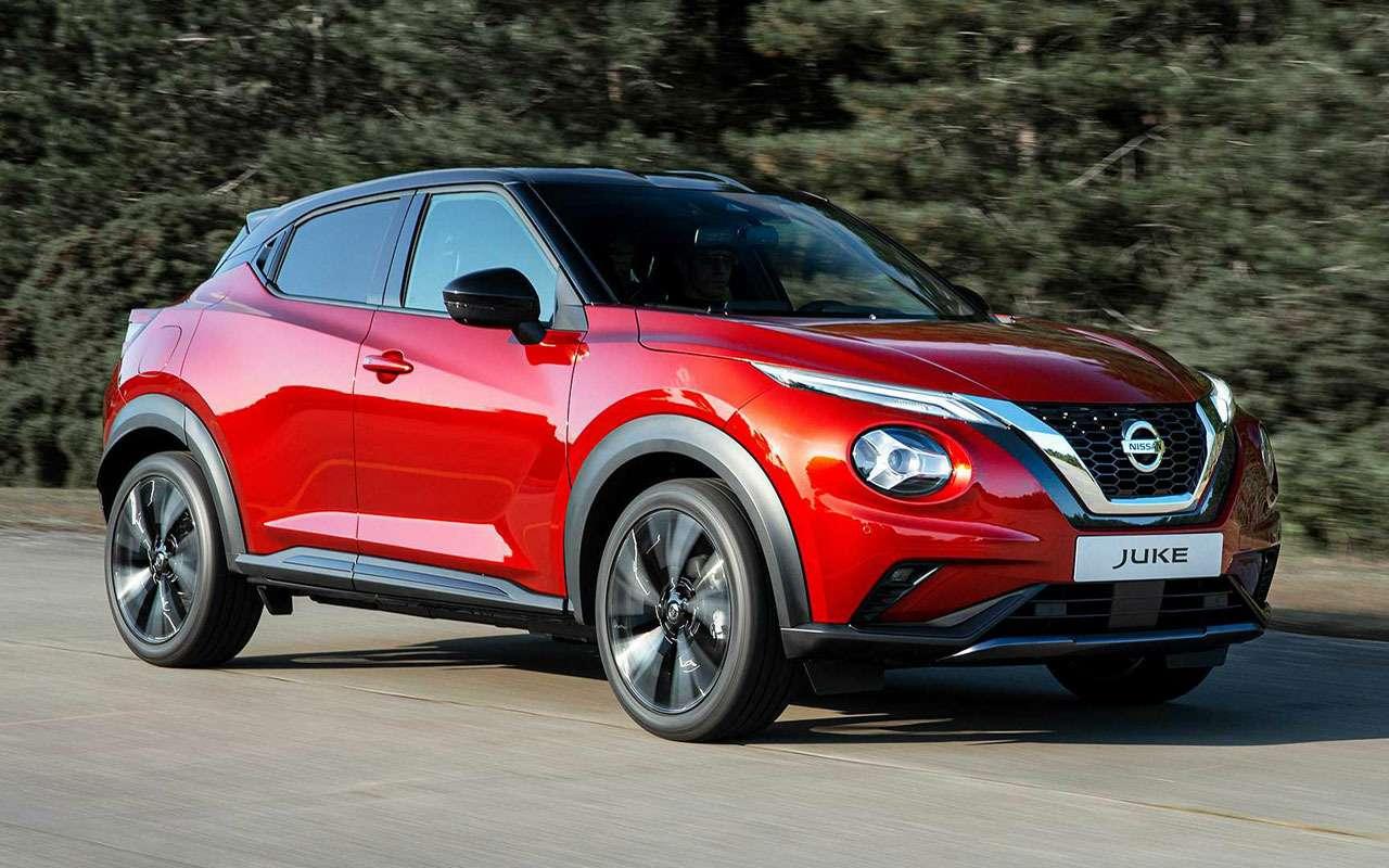 Новый Nissan Juke: легче, больше, злее— фото 994845